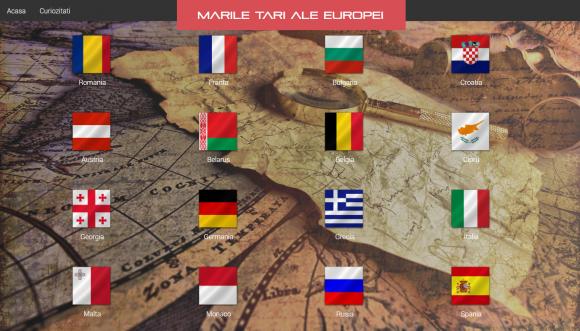 Atestat informatica - Marile tari ale europei