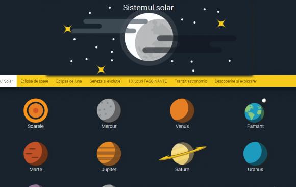 Atestat informatica - SISTEMUL SOLAR