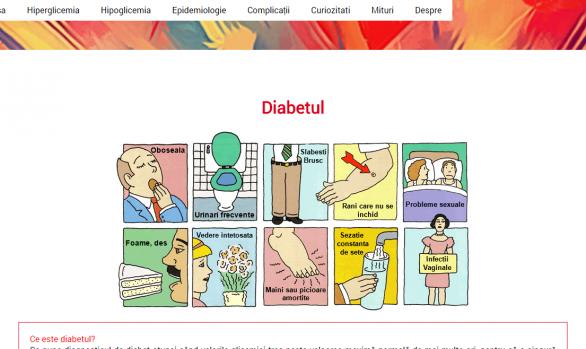 Atestat informatica HTML/CSS - Diabet