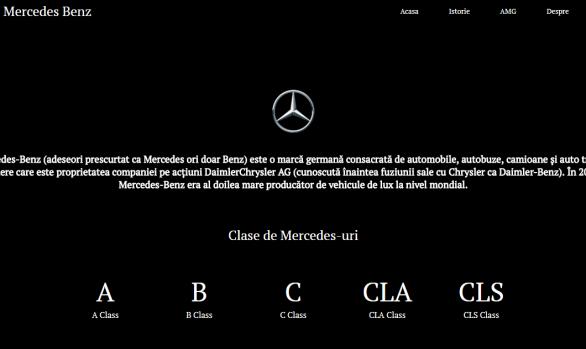 Atestat informatica Mercedes Benz