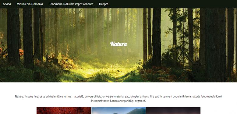 Atestat Natura